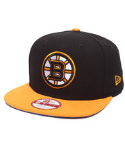 New Era - Boston Bruins NHL Stock 9Fifty Basic 2 Tone Snapback Cap