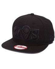 New Era - Cleveland Cavaliers NBA Hardwood Classics Stock Tonal Black Graphite 9Fifty Snapback Cap