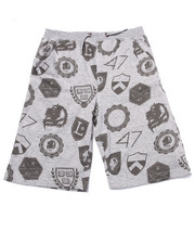 Shorts - RANDOM SHIELDS SWEAT SHORTS (8-20)