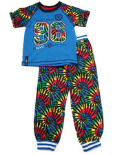 Sizes 4-7x - Kids - 2 PC TIE DYE TEE & JOGGER SET (4-7)