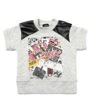 Girls - QUILTED TEE (4-6X)