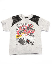 Sizes 7-16 - Big Kids - QUILTED TEE (7-16)