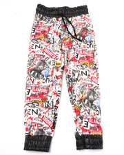Girls - GRAFFITI PRINT JOGGERS (4-6X)