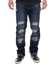 Winchester - Hawaii Rip & Repair denim Jeans