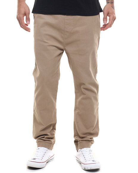 Winchester - Men Khaki Arkansas Workman Plaid Trim Jogger - $31.99