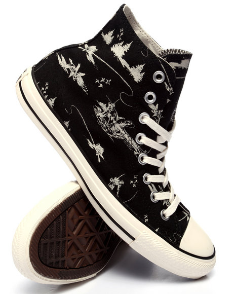 Converse - Men Black Chuck Taylor All Star Hi Great Outdoors