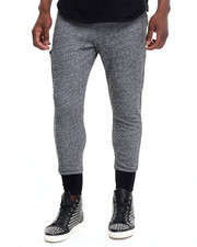 Jeans & Pants - Side Pocket Contrast Joggers
