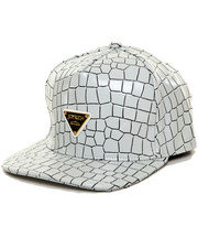 Accessories - CROCODILE PU SNAPBACK