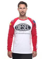 Diesel - T-Geos Raglan Logo Tee