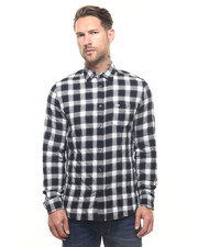 Men - S-ANOBU Seersucker Buttonfront Shirt