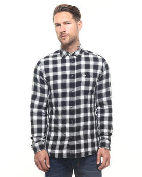 Button-downs - S-ANOBU Seersucker Buttonfront Shirt