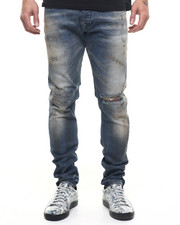 -FEATURES- - Sleenker 0846 Vintage Rip Jeans