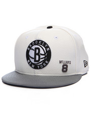 New Era - Brooklyn Nets Player Faux leather custom snapback hat