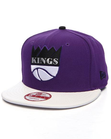 New Era - Men Purple Los Angeles Kings Custom 950 Snapback Hat