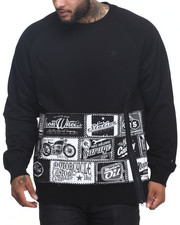Men - Greene Motor Sign Patches Sweatshirt (B&T)