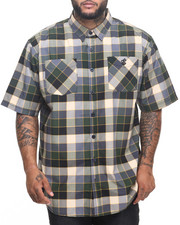 Men - Osborn S/S Button-down (B&T)