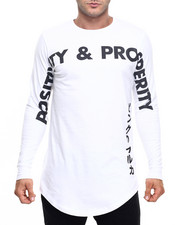 Shirts - POSITIVITY & PROSPERITY L/S TEE