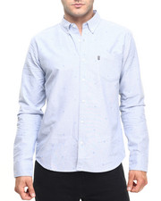 Men - Monogram H L/S Oxford Button-down