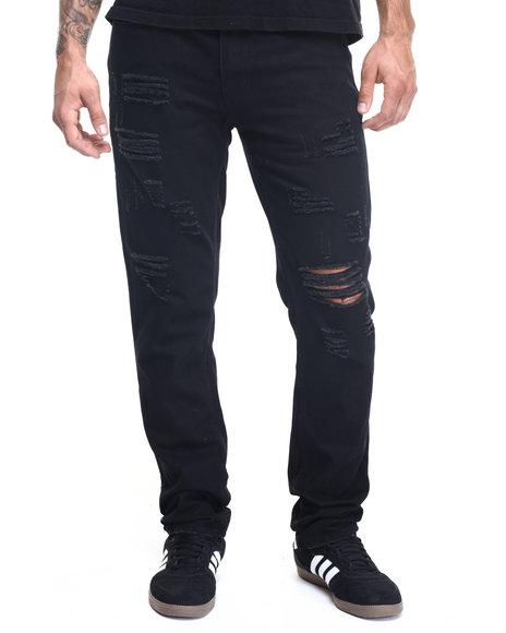 Trukfit - Men Black Rebel Denim Jean