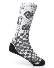 Men - Checkers Socks