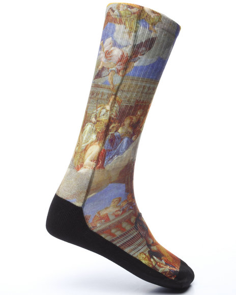 The Loud Packs - Men Multi Venetian Socks