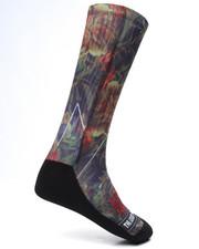 Men - Floral 2 Socks