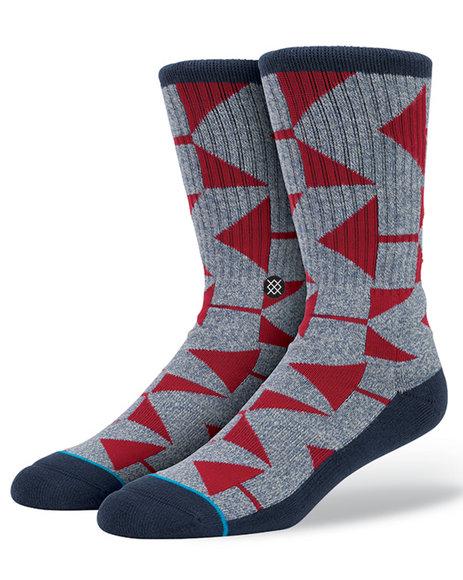 Stance Socks Men Cardwell Socks Blue Large/X-Large
