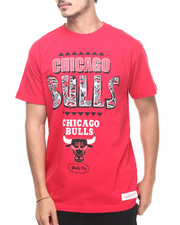 Mitchell & Ness - Chicago Bulls NBA Running Out the Clock Tee