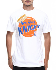 Mitchell & Ness - New York Knicks Crowned Ball Tee