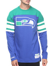 Mitchell & Ness - Seattle Seahawks NFL Pump Fake Heavyweight Jersey L/S Tee