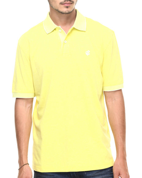 Rocawear - Men Yellow Macro Polo