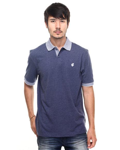 Rocawear - Men Blue Macro Polo