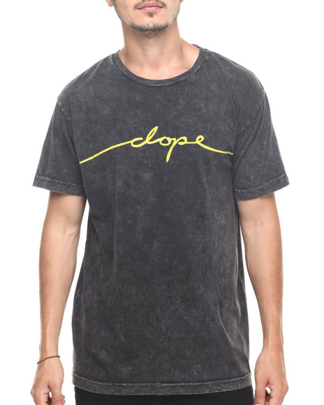 Dope - Men Dark Wash Cosign Tee