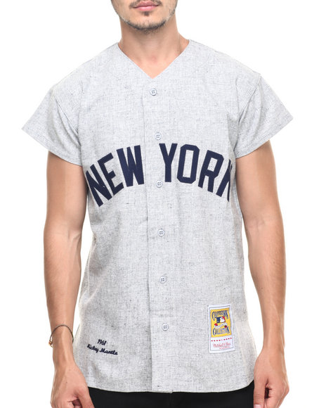 Mitchell & Ness Grey Jerseys