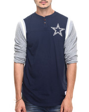 Mitchell & Ness - Dallas Cowboys NFL Rushing Play Henley Tee