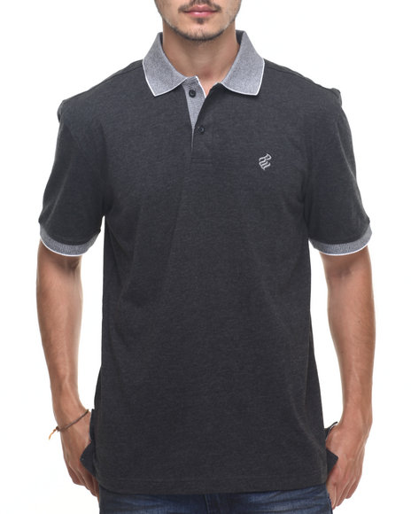Rocawear - Men Black Macro Polo