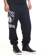 Mitchell & Ness - Brooklyn Nets NBA Side Logo Sweatpants