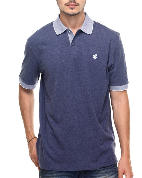 Rocawear - Men Blue Macro Polo