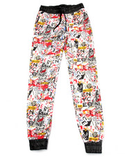 Girls - GRAFFITI PRINT JOGGERS (7-16)