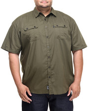 Rocawear - Utility S/S Button-down (B&T)