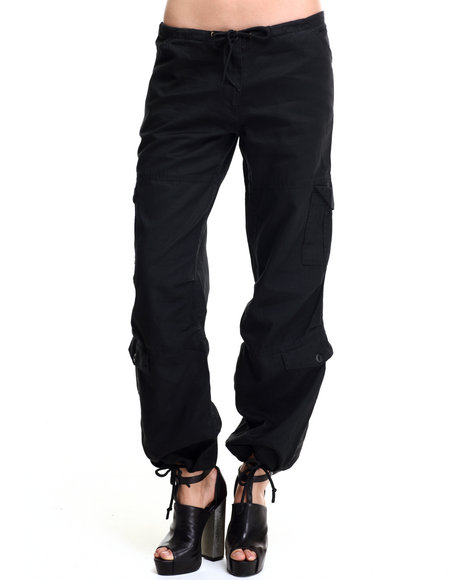 Rothco Women Rothco Women's Vintage Paratrooper Fatigue Pants Black XX-Large
