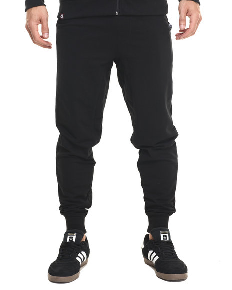 Akademiks - Men Black Flatland Jogger Sweatpants