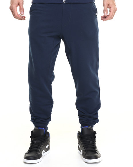 Akademiks - Men Navy Flatland Jogger Sweatpants