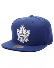 Mitchell & Ness - Toronto Maple Leafs Black & White Logo Series Snapback Cap