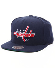 Mitchell & Ness - Washington Capitals Wool Solid Snapback cap