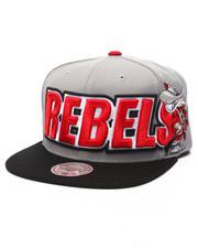Mitchell & Ness - UNLV NCAA XXL Wordmark Snapback Cap