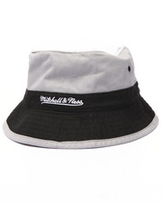 Mitchell & Ness - San Antonio Spurs NBA Current Color Block Bucket Hat