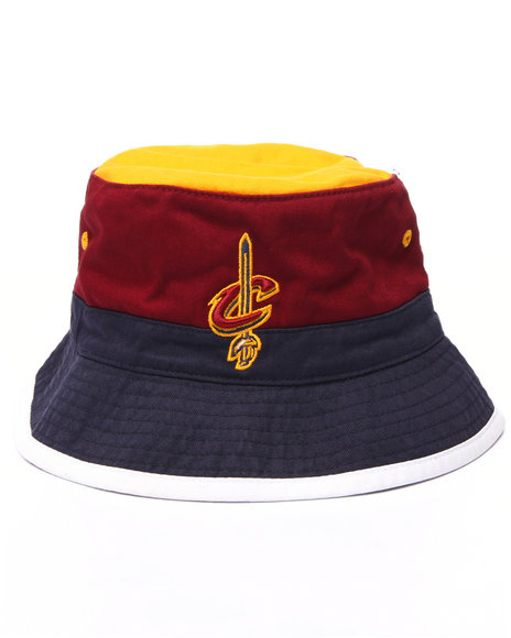 Mitchell & Ness - Men Multi Cleveland Cavaliers Nba Current Color Block Bucket Hat