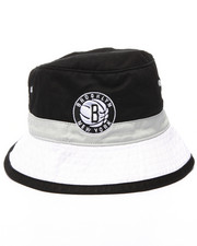 Mitchell & Ness - Brooklyn Nets NBA Current Color Block Bucket Hat