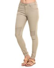 Fall Shop - Women - Moto Twill Skinny Pant